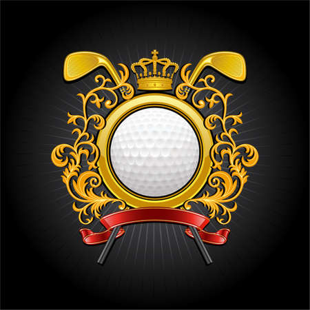 Golf symbol Stock Vector - 9560337