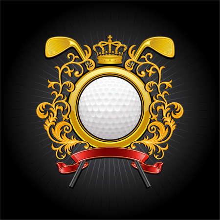 sport club:  Golf symbol