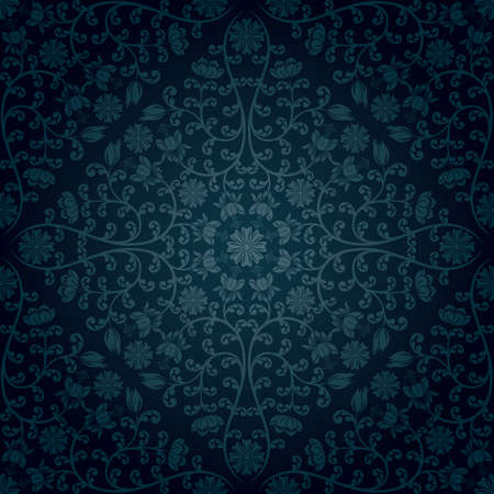 Seamless floral pattern Stock Vector - 10562161
