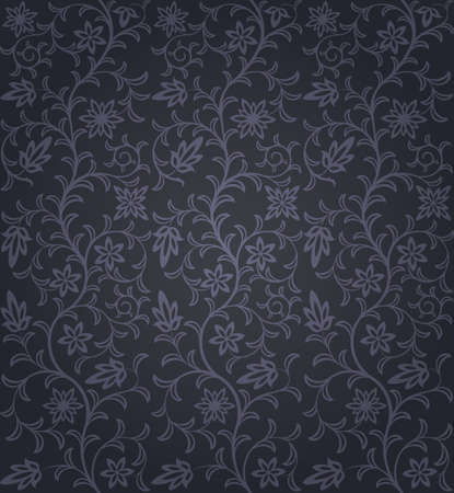 Seamless floral pattern Stock Vector - 10602125