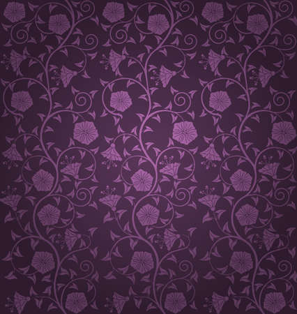 Seamless floral pattern Vector