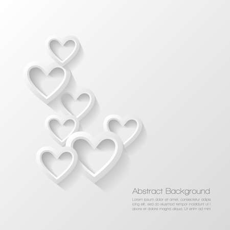 white day: Abstract valentine day background Illustration
