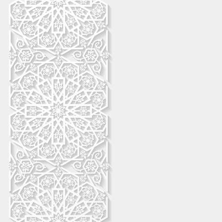 Abstract background with floral pattern Vector