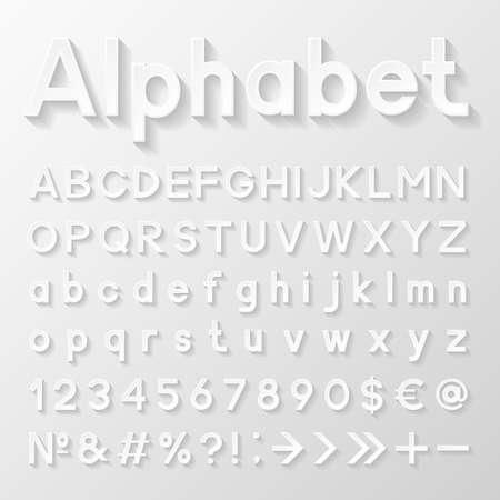 Dekorpapier Alphabet Standard-Bild - 33655116