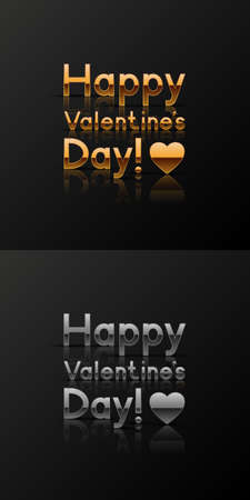 Valentine?s day greeting cards Vector