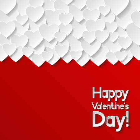 happy valentines day: Valentines day greeting card
