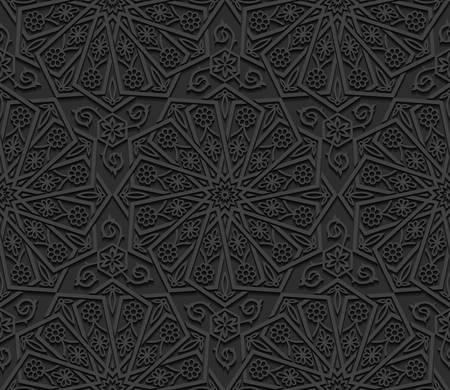 Naadloos patroon met traditioneel ornament