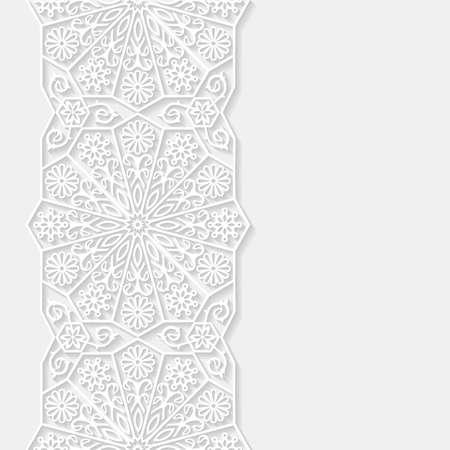 Abstracte achtergrond met traditionele ornament Stockfoto - 43850155