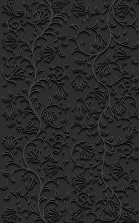 seamless pattern: Seamless floral pattern