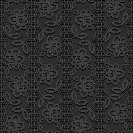 Vector pattern: Seamless floral pattern. Hình minh hoạ