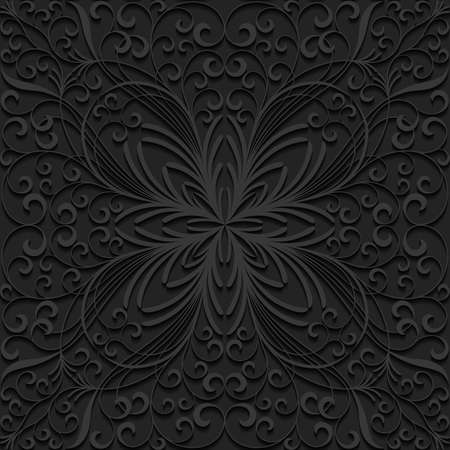 classic style: Seamless floral pattern