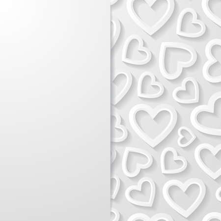 heart abstract: Abstract background with hearts