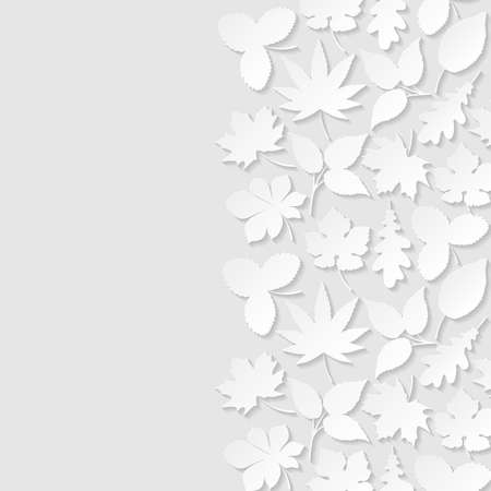paper background: Abstract background with paper leaves