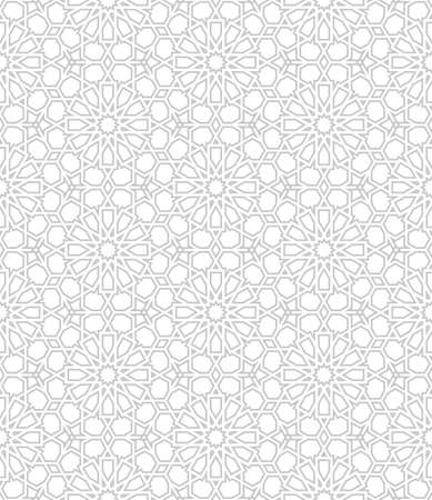 retro pattern: Seamless pattern with traditional ornament Illustration