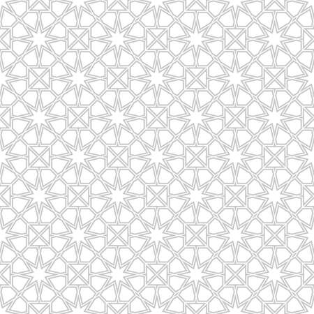 traditional pattern: Seamless pattern with traditional ornament Illustration