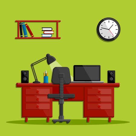 modern business: Modern business office workspace