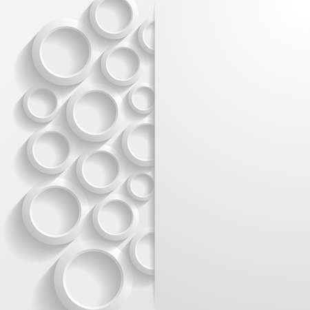 abstract circles: Abstract geometric background