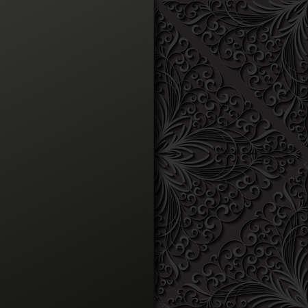 fondo elegante: Fondo floral abstracto