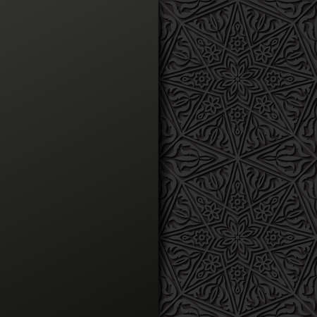 abstract backgrounds: Abstract background with traditional ornament