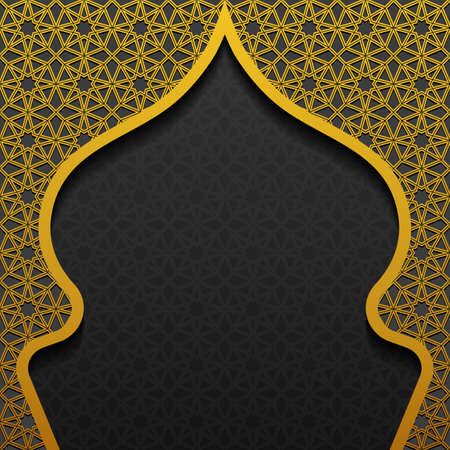 Background with traditional ornament. Vector illustration.
