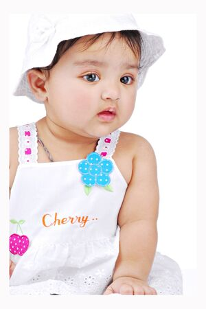 beautiful indian girl face: baby girl