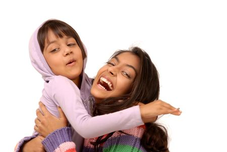 ciascuno: Due sorelle belle azienda reciprocamente