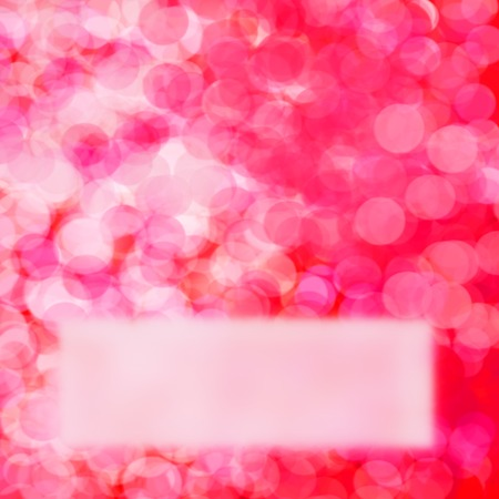 Red and pink fuzzy background for valentine Stock Photo