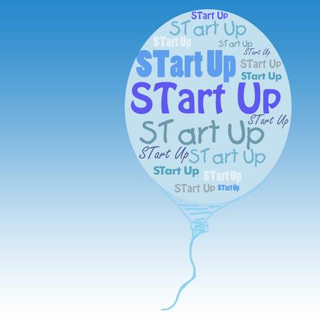 start up: Start Up illustration