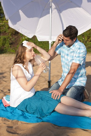 sunstroke: Sunstroke, circulatory insufficiency caused by summer heat