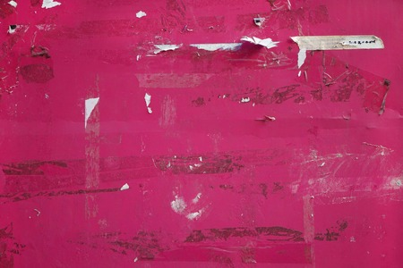 teared: Pink old paper background