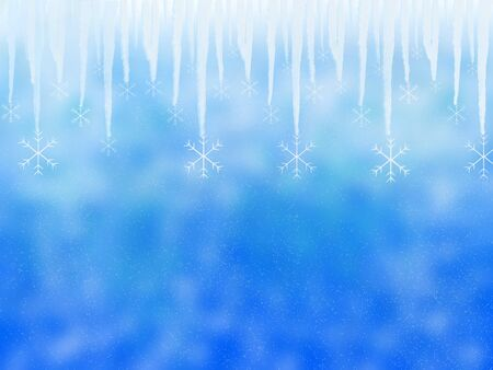 icicle: Winter background with icicle