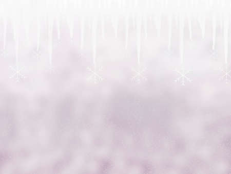 icicle: Grey Winter background with icicle