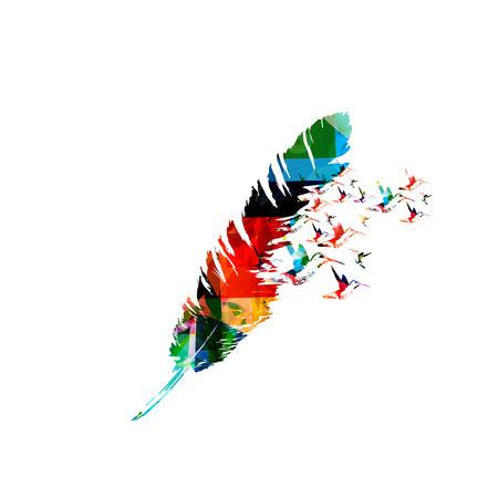 Creative feather design