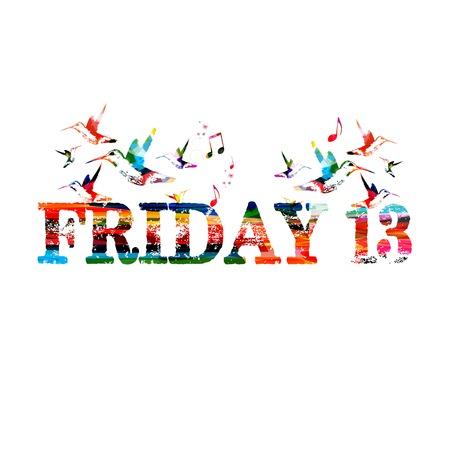 friday 13: Friday 13 inscription