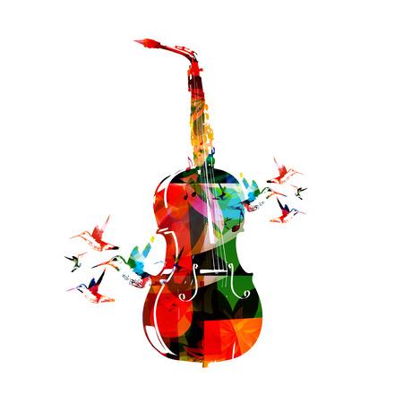 violoncello: Violoncello and saxophone design