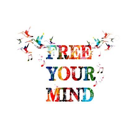 Free your mind inscription