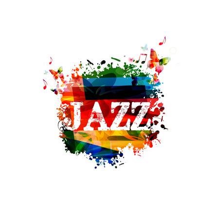Design coloré JAZZ Banque d'images - 37390411