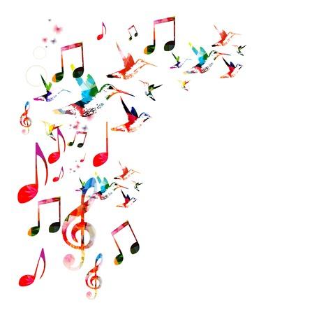 coro: Fondo musical de colores
