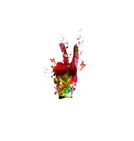 Hand, die Friedenszeichen Standard-Bild - 38117094