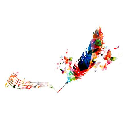 Creative writing concept  イラスト・ベクター素材