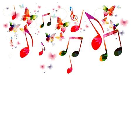 piano: Música de fondo vector