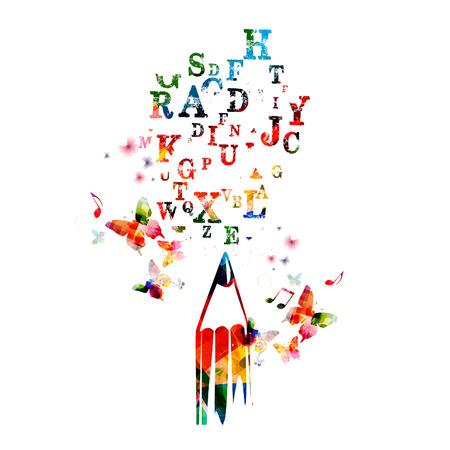 Notion d'écriture créative Banque d'images - 39099097