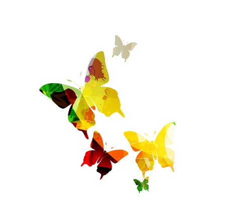 butterfly background: Butterfly background Illustration