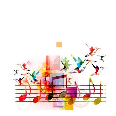 추상 음악 배경 스톡 콘텐츠 - 41638826