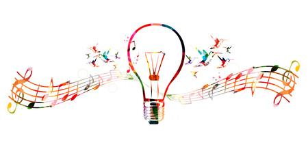 music notation: Creative composing Illustration