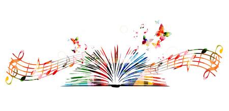 Kolorowe książki z motyli Ilustracje wektorowe