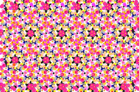 Abstract Digital Art Pink Star photo
