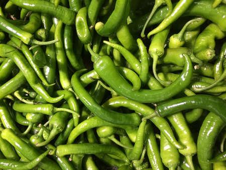 Vegetable Stills  Chili Pepper green photo