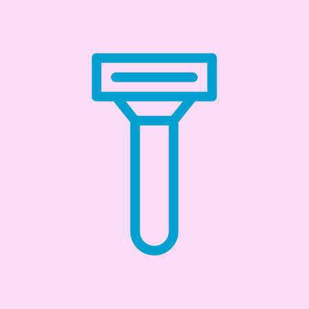 Vector razor icon. Shaving razor Vettoriali