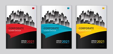 Corporate cover design template Can be adapt to annual report, presentation, Portfolio, business brochure flyer, book cover, poster, banner, website. abstract background. a4 size